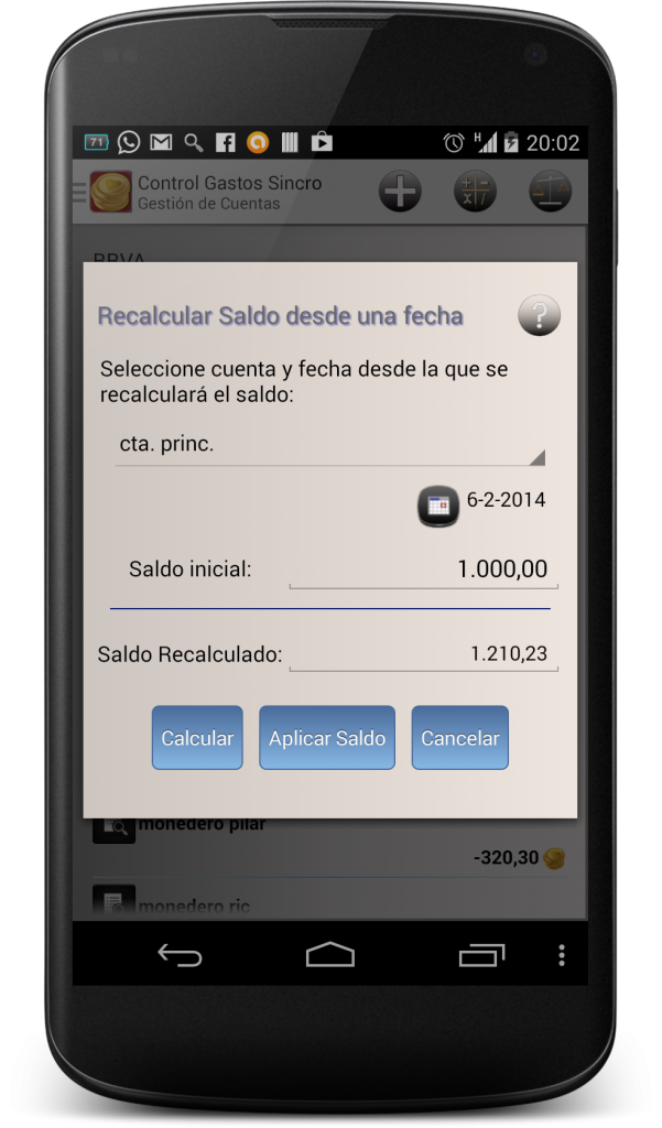 recalcularsaldo1